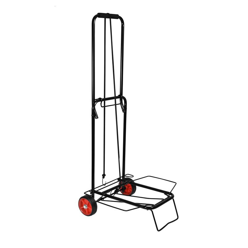 Steel Folding Luggage Trolley