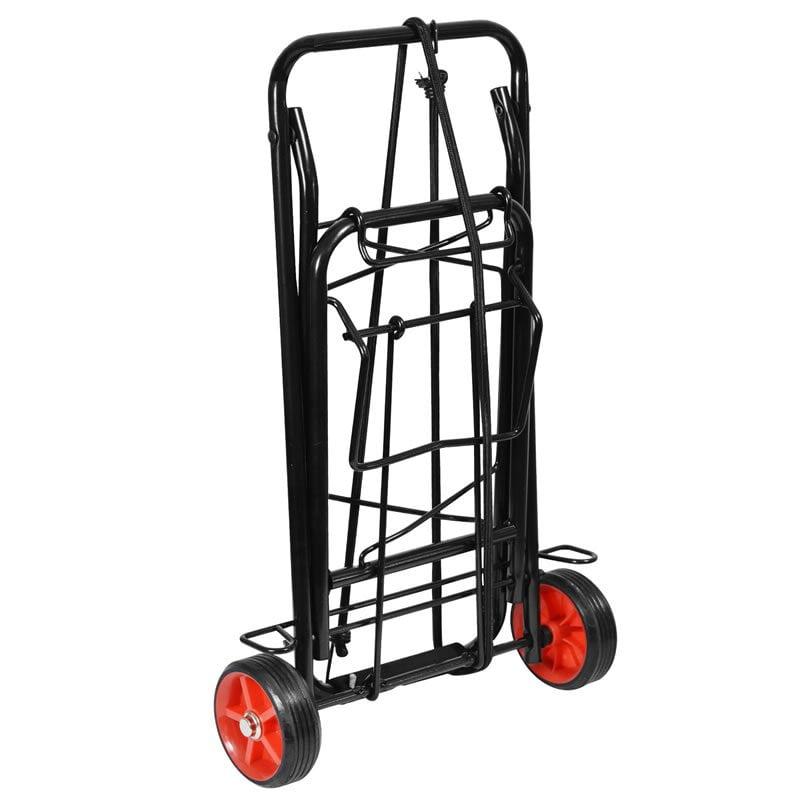 Steel Folding Luggage Trolley