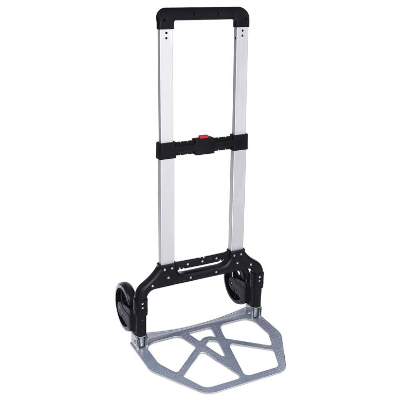 Heavy Duty Folding Hand Truck Aluminum Folding Cart and Dolly