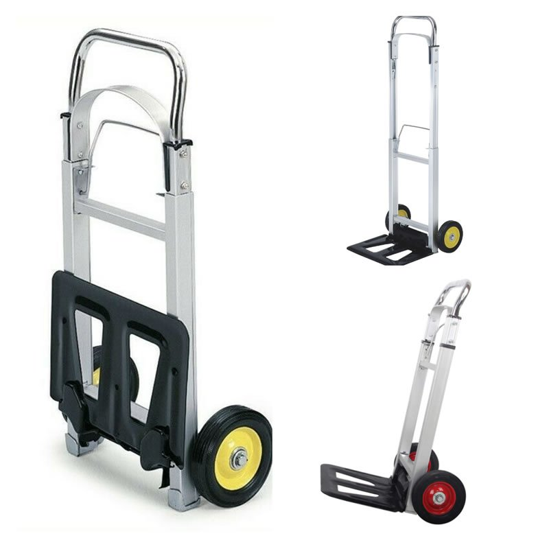 Aluminum Hand Truck Trolley Dolly Folding