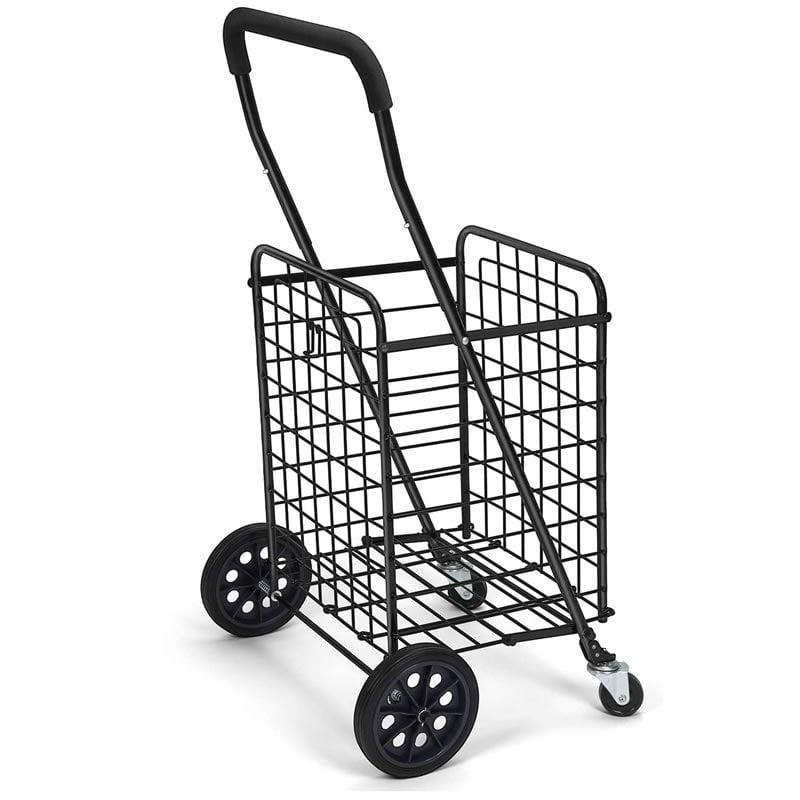 Steel Grocery Folding Shopping Cart
